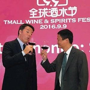 """Frescobaldi, Antinori, Banfi: i vini della Toscana sugli """"scaffali"""" di Alibaba"""
