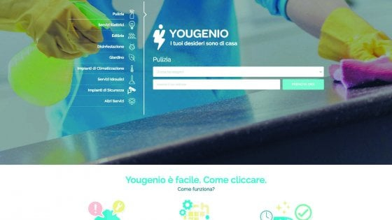 Pulizie di casa e camicie stirate: Yougenio, la start up del domestico 2.0