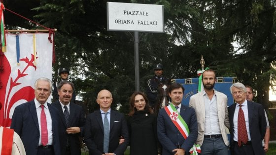 Firenze ricorda Oriana Fallaci e le dedica un piazzale