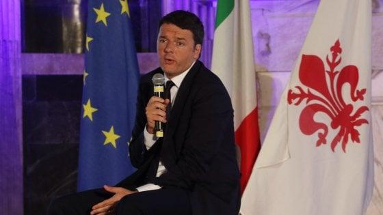 """Renzi sul'immigrazione: """"Rischio esplosione per incapacità Ue"""""""
