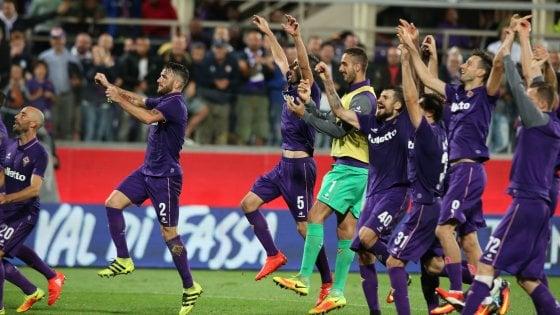 Fiorentina, la Roma messa ko da un gran tiro di Badelj