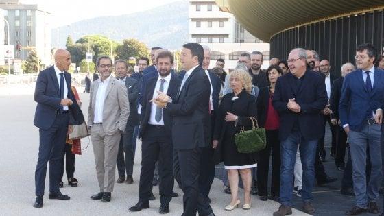 Il premier Renzi a Prato e Firenze
