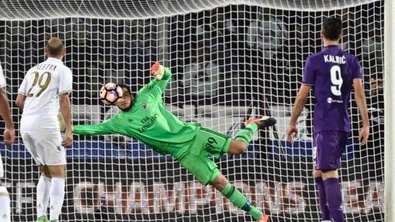 Ilicic spreca il rigore e la Fiorentina si ferma al pari