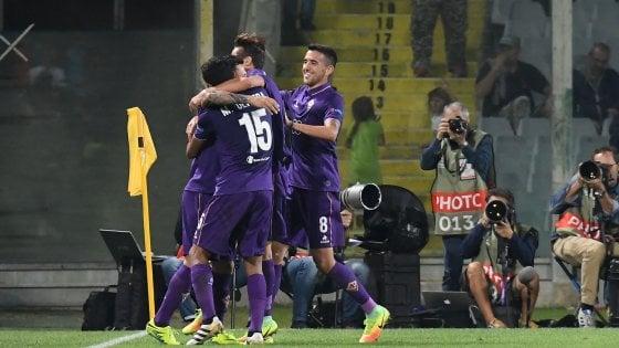 La Fiorentina a valanga, sommerge di gol il Qarabag