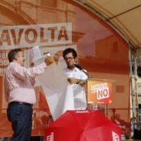 Firenze, Sinistra italiana apre la campagna del no al referendum