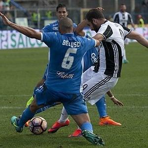Alla Juve bastano 5 minuti per battere l'Empoli 3-0