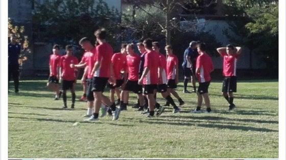 Le giovanili del Pisa si allenano ai giardinetti