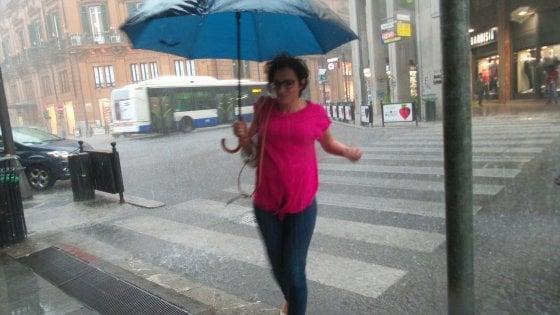 Maltempo, allagamenti e disagi a Livorno
