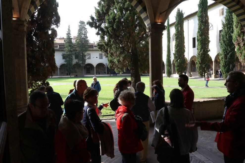 "Firenze, in migliaia per vedere i ""nuovi"" spazi di Santa Maria Novella: affreschi e chiostri"