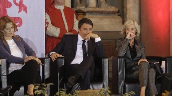 """Lingua italiana, Renzi: """"Serve una gigantesca scommessa sul made in Italy"""""""