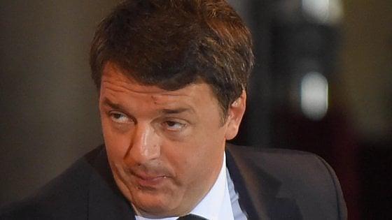 """Renzi al Sant'Anna di Pisa: """"Bisogna aprirsi, non fermarsi alla retorica della fuga dei cervelli"""""""