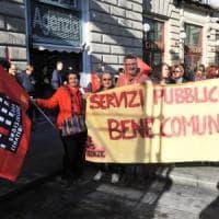 Firenze, venerdì di sciopero del settore pubblico:  300 in corteo