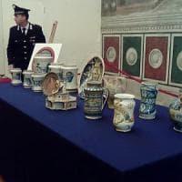 Firenze, recuperate ceramiche e maioliche rubate 40 anni fa