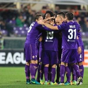 Europa League: Fiorentina, missione compiuta con tre gol al Liberec