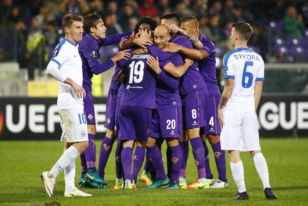 Fiorentina, primo centro in maglia viola per Cristoforo