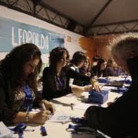 Firenze, via alla Leopolda 7: con i gadget per il sì al referendum