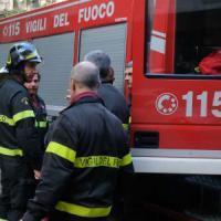 Firenze, incendio a