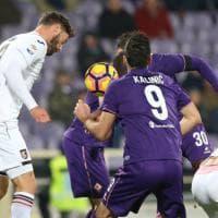 Fiorentina, Babacar la chiude allo scadere