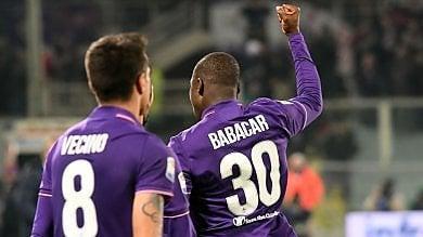 Fiorentina, Babacar all'ultimo respiro: 2-1