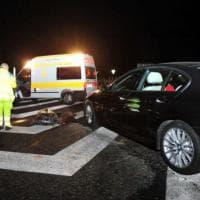 Branco di cinghiali provoca un incidente sulla Firenze-Mare: muoiono otto animali, un ferito, sei auto danneggiate