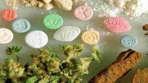 """Droga, """"cento nuove  sostanze psicoattive in Europa"""""""