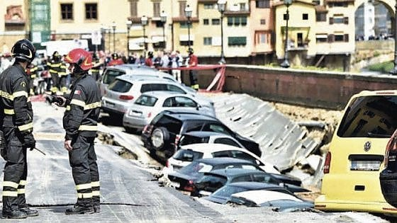 Firenze, crollo Lungarno Torrigiani: troppi i responsabili, nessuno è colpevole
