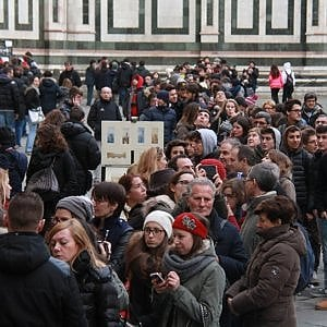Firenze, boom di turisti a Capodanno: prenotate il 94% delle camere