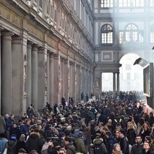 Uffizi, boom di visitatori: la Galleria sopra i 2 milioni di visitatori in un anno, è la prima volta
