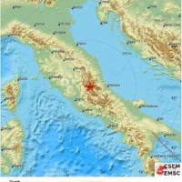 Terremoto, scossa nel Centro Italia avvertita anche a Firenze