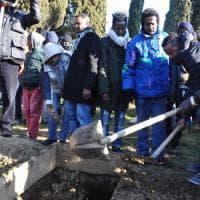 A Firenze i funerali di Ali Muse, morto nel rogo di Sesto: