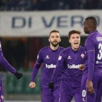 Fiorentina, settimana perfetta: dopo la Juve 3 reti al Chievo