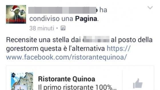 """Firenze, insulti e false recensioni su Fb contro un ristorante: """"L'ultima moda è rovinare la reputazione"""""""
