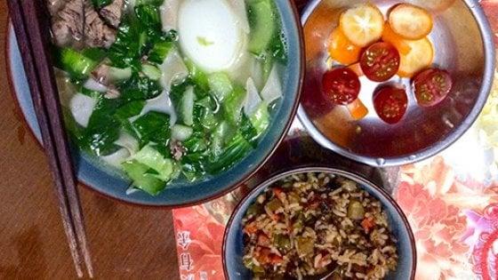 Breakfast on tour ravioli e frutta caramellata a casa di for Colazione cinese