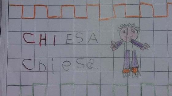 Fiorentina, la maestra chiede di disegnare una chiesa: il bambino disegna il calciatore Federico
