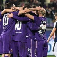 Fiorentina, sconfitta l'Udinese. E ora l'Europa League