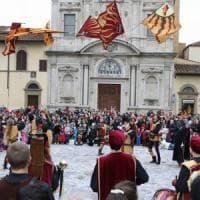 Firenze, in piazza Ognissanti il carnevale dei bambini