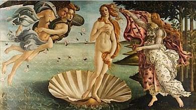 Da Botticelli a Piero di Cosimo:  le opere degli Uffizi tradotte in pixel