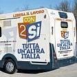 """Firenze, arriva il camper della Cgil contro i """"voucher"""""""