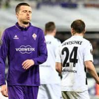 Fiorentina, che crollo: addio all'Europa League