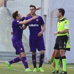 Fiorentina, il lampo di Kalinic allo scadere riscatta una partita noiosa