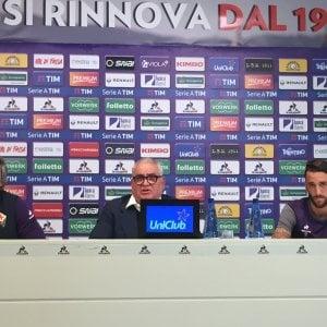 """Fiorentina, Corvino e il patto per l'Europa: """"Davanti a noi 10 finali"""""""