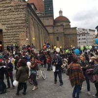 Firenze, in piazza contro l'obbligo dei vaccini a scuola