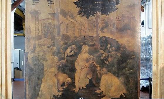Uffizi, sui social l'attesa per il ritorno di Leonardo