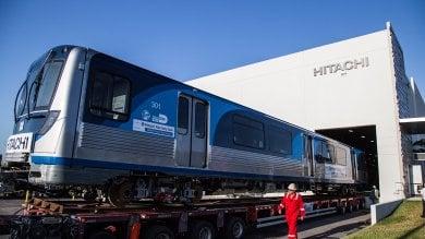 Pistoia, Hitachi Rail: prima consegna  del treno metropolitano a Miami