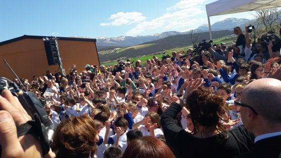 Norcia, inaugurata nuova scuola antisismica donata dalla Coop