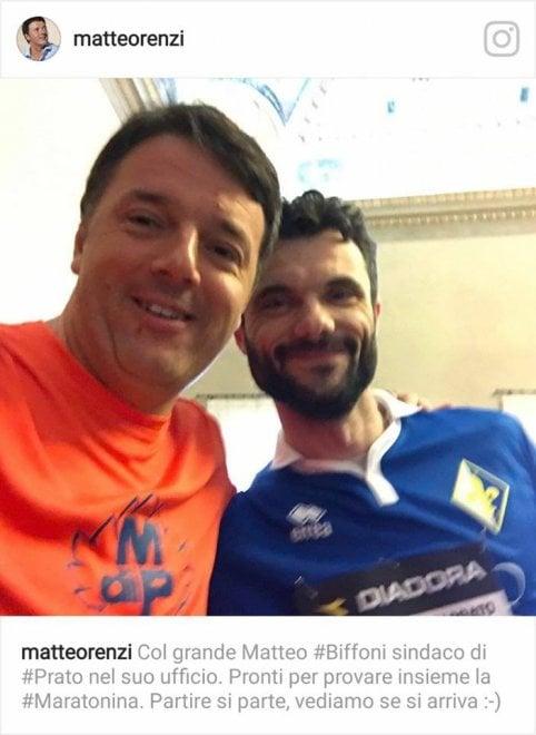 Prato, Renzi corre la Maratonina