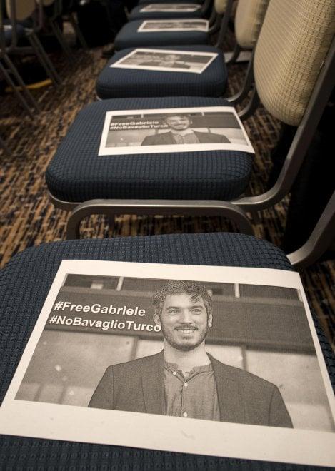 Turchia. Del Grande: #iostocongabriele al congresso della stampa a Roma