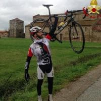 Ciclista scomparso, il mistero della bicicletta