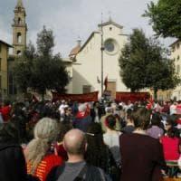 Firenze celebra il 25 aprile, corteo in Oltrarno super sorvegliato