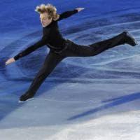 Firenze, i campioni del pattinaggio artistico su ghiaccio al Mandela Forum